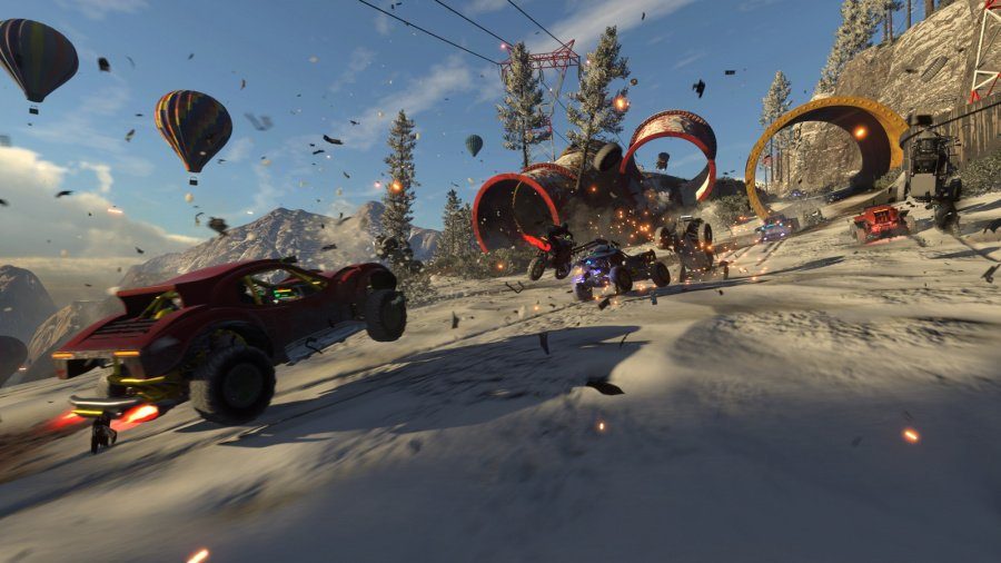 Onrush PS4 PlayStation 4 Preview Hands On