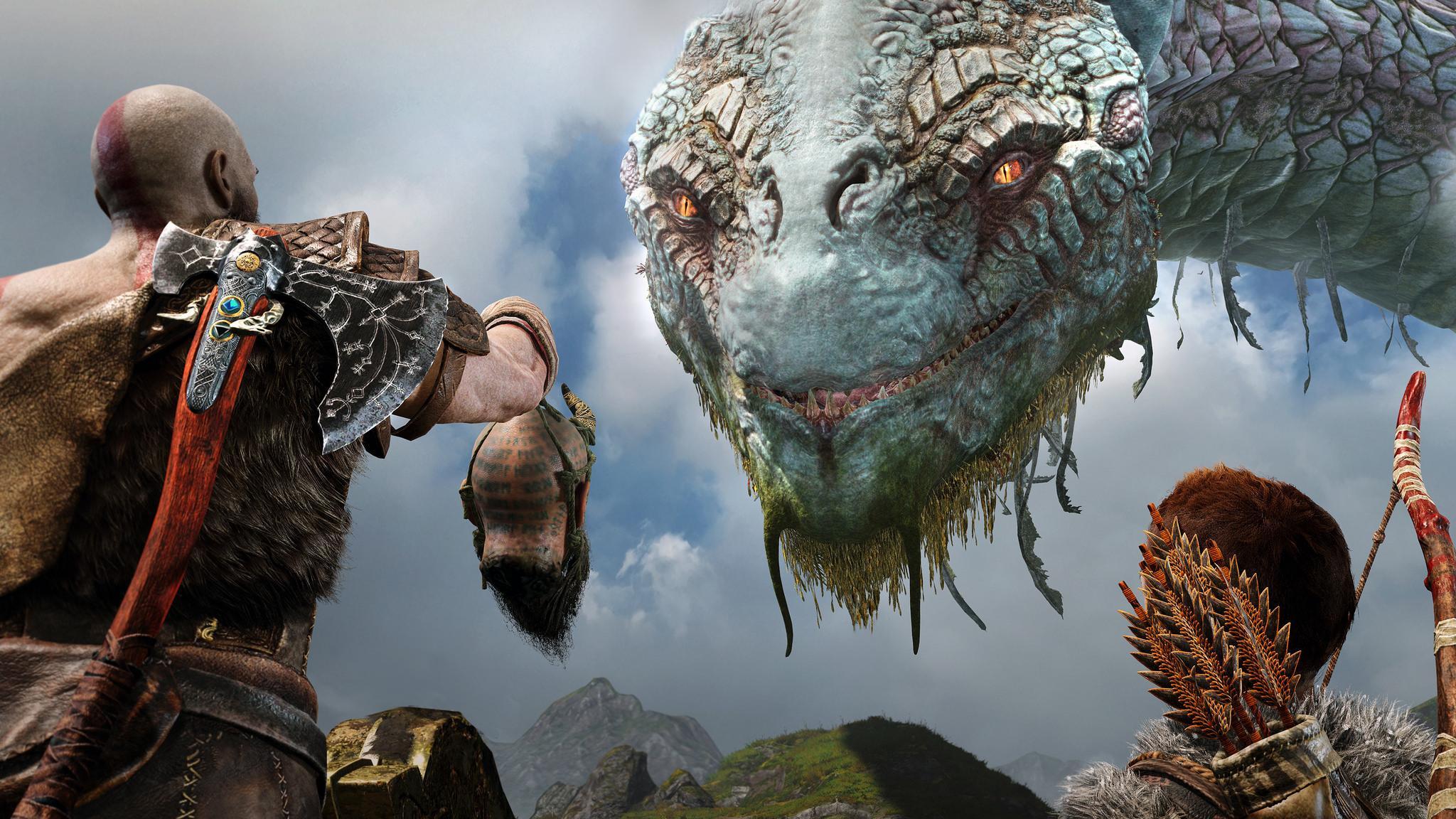 god of war ps4 ile ilgili görsel sonucu