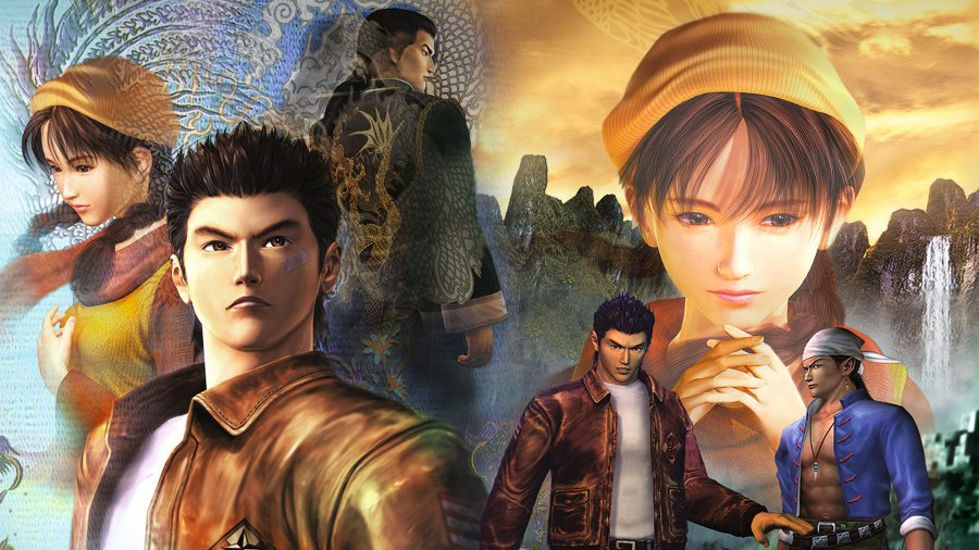 Shenmue I & II PS4 PlayStation 4 1