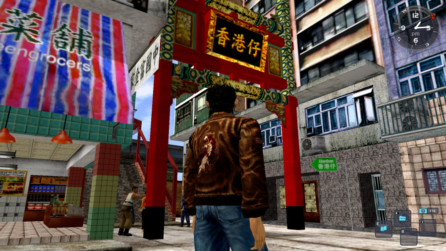 Shenmue I & II PS4 PlayStation 4 2