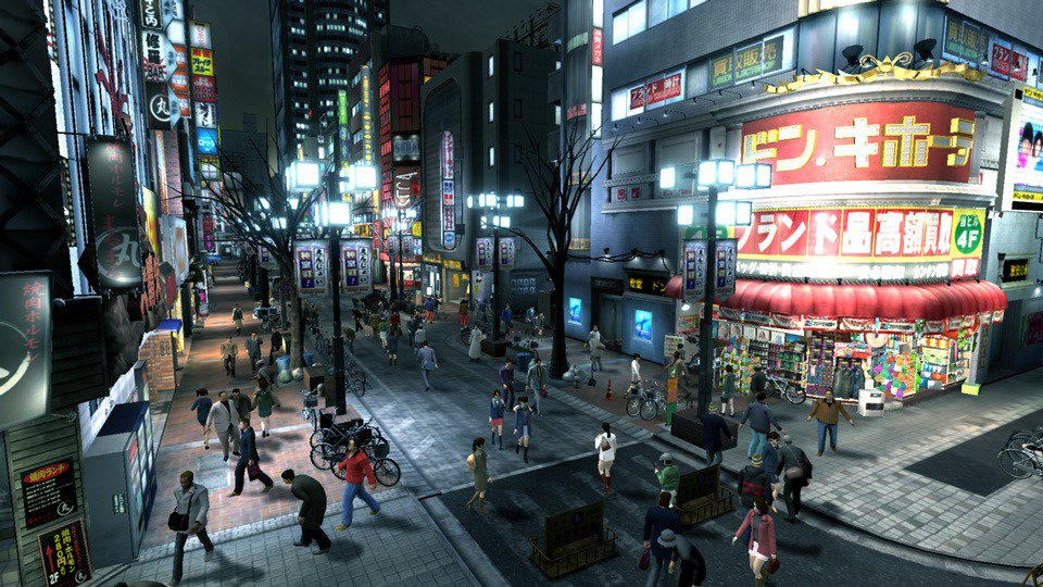 Here's What Yakuza 3 Looks Like Remastered on PS4 - Push Square