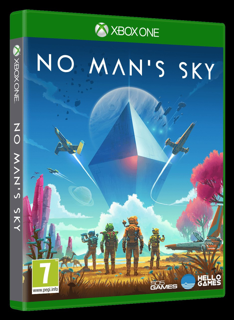 Xbox One Box Art Rumour: No Man's Sky's...