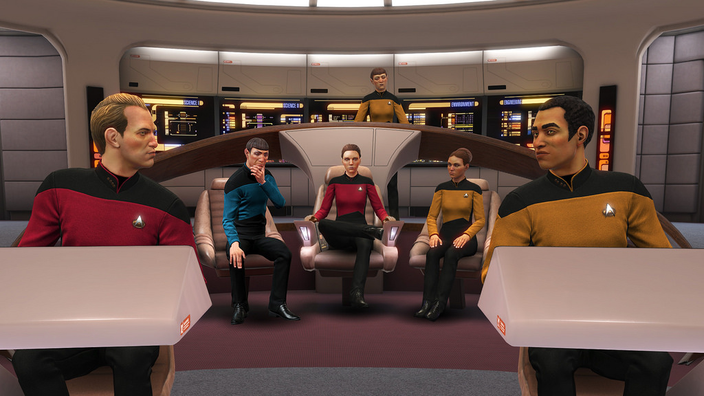 Star Trek: Bridge Crew is Getting Star Trek The Next Generation DLC