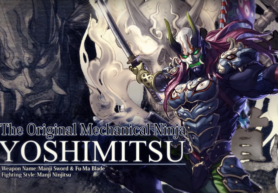 News Yoshimitsu Has an Amazing Design in SoulCalibur VI