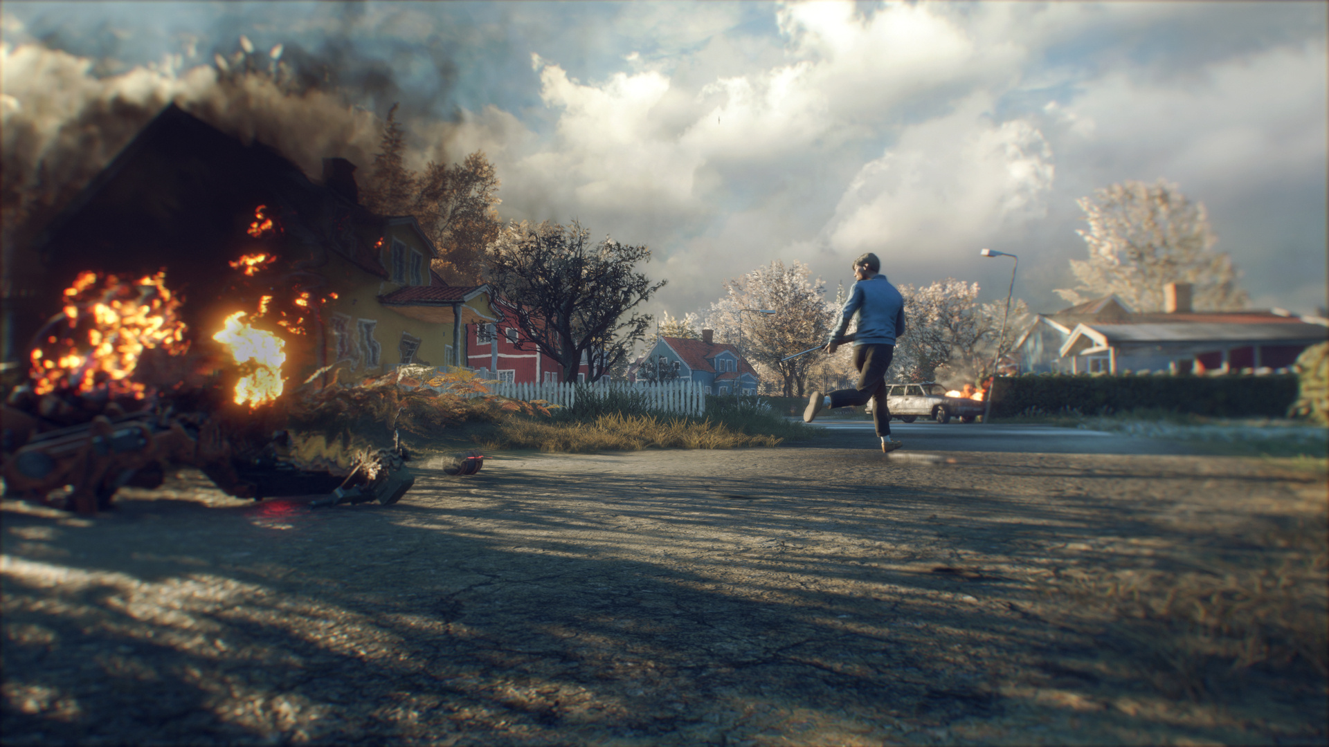 Generation Zero's Announcement Trailer Introduces Four Players Against Deadly Machines