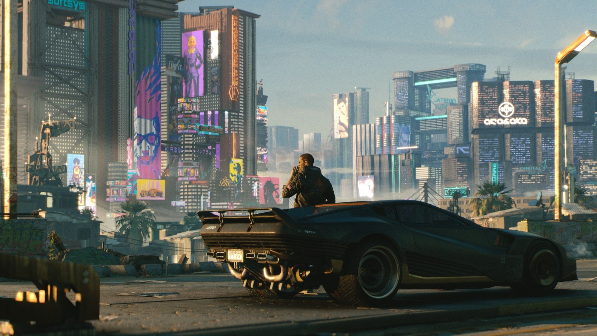 Cyberpunk 2077 is an FPS Set in Night City