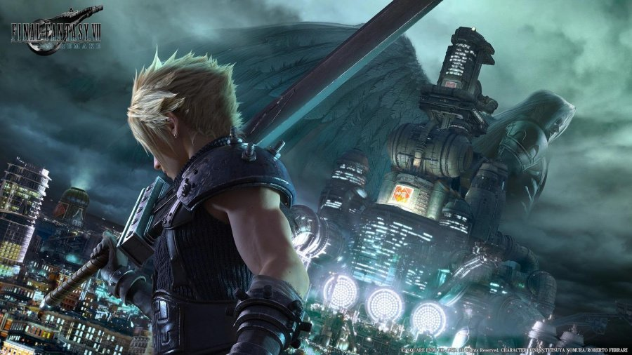 Final Fantasy VII Remake PS4 PlayStation 4 1