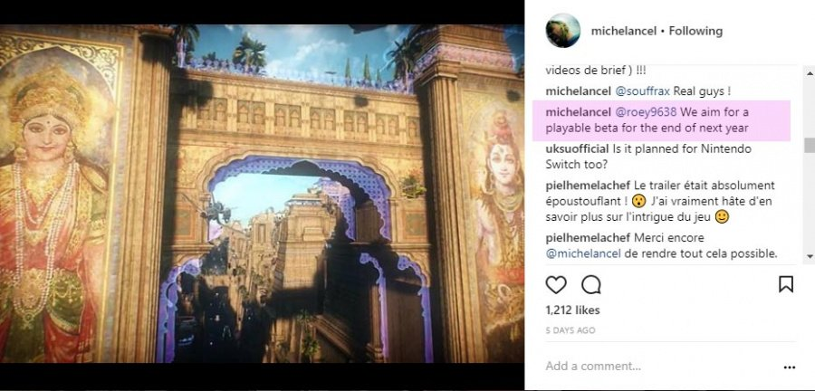Beyond Good & Evil 2 Beta Michel Ancel Instagram
