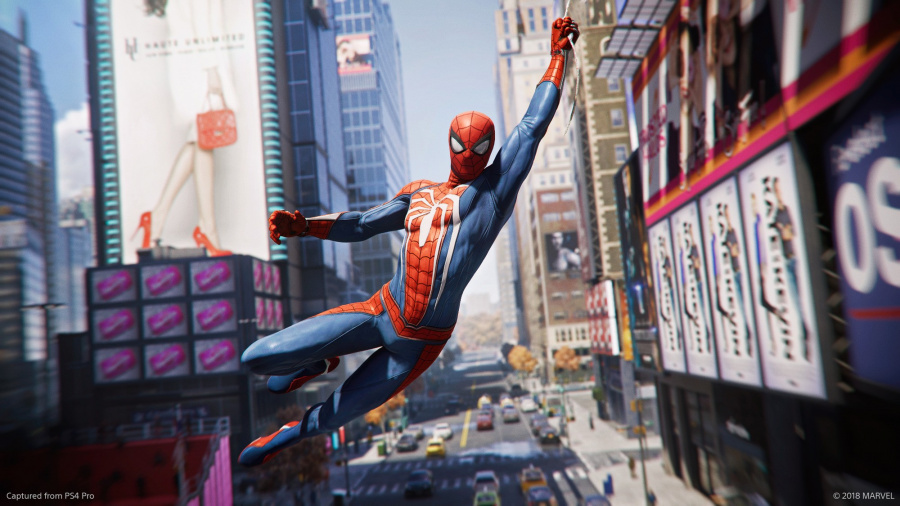 Spider-Man PS4 PlayStation 4 E3 2018
