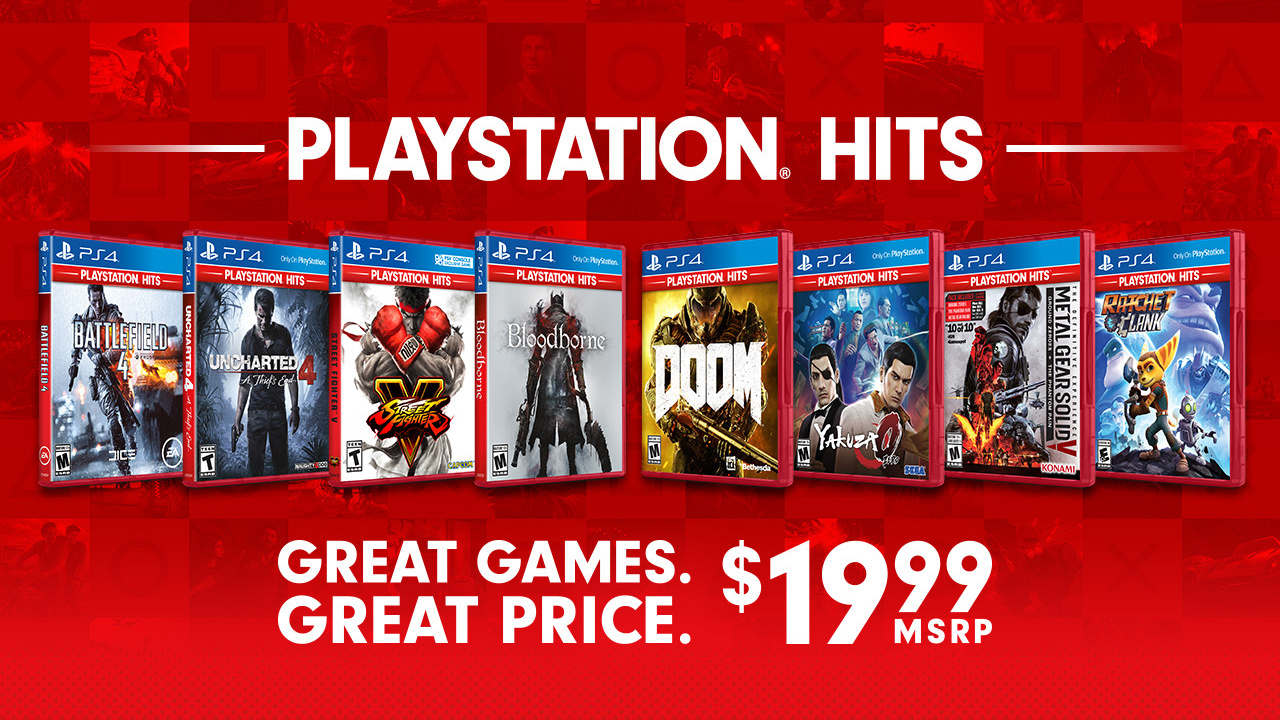 All Playstation 4 Games : Sony announces low cost range of ps games playstation