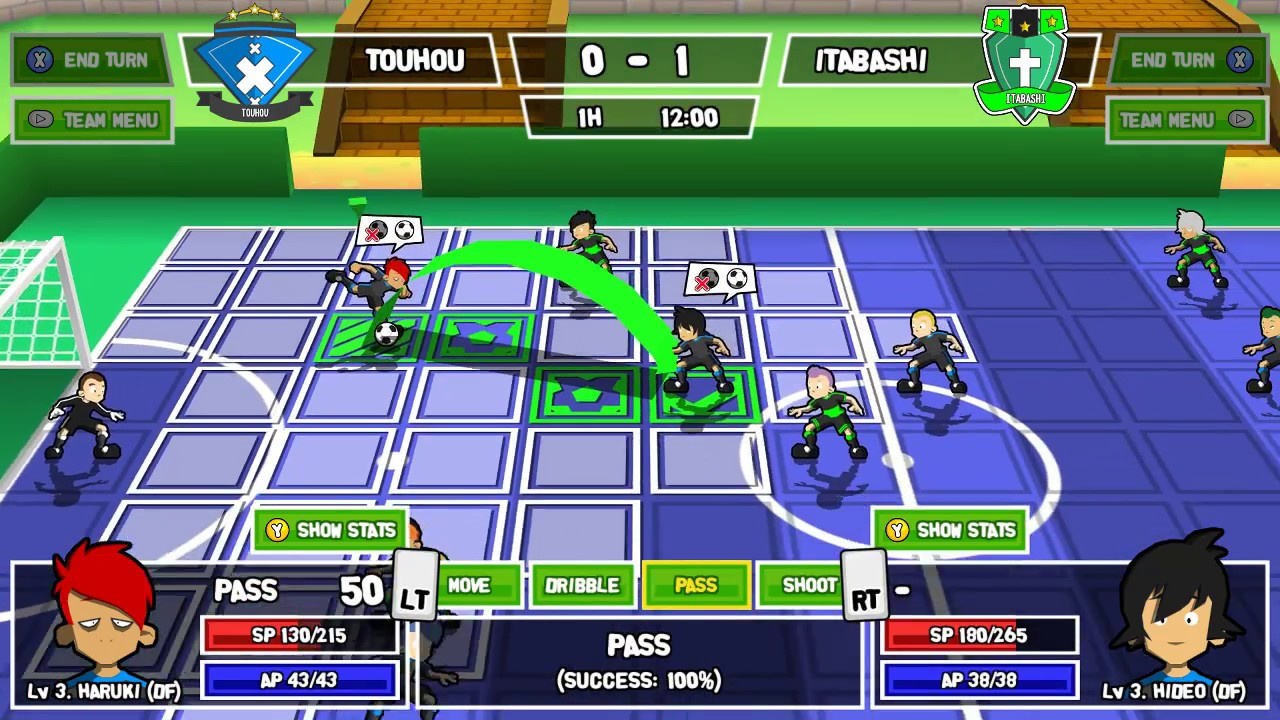 Football RPG Ganbare! Super Strikers Dribbles to PS4 This Year
