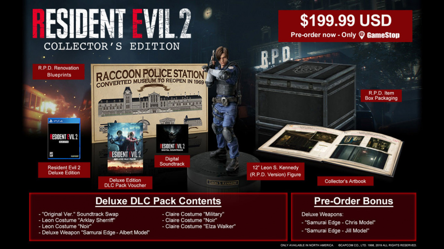Resident Evil 2 Collector's Edition 1