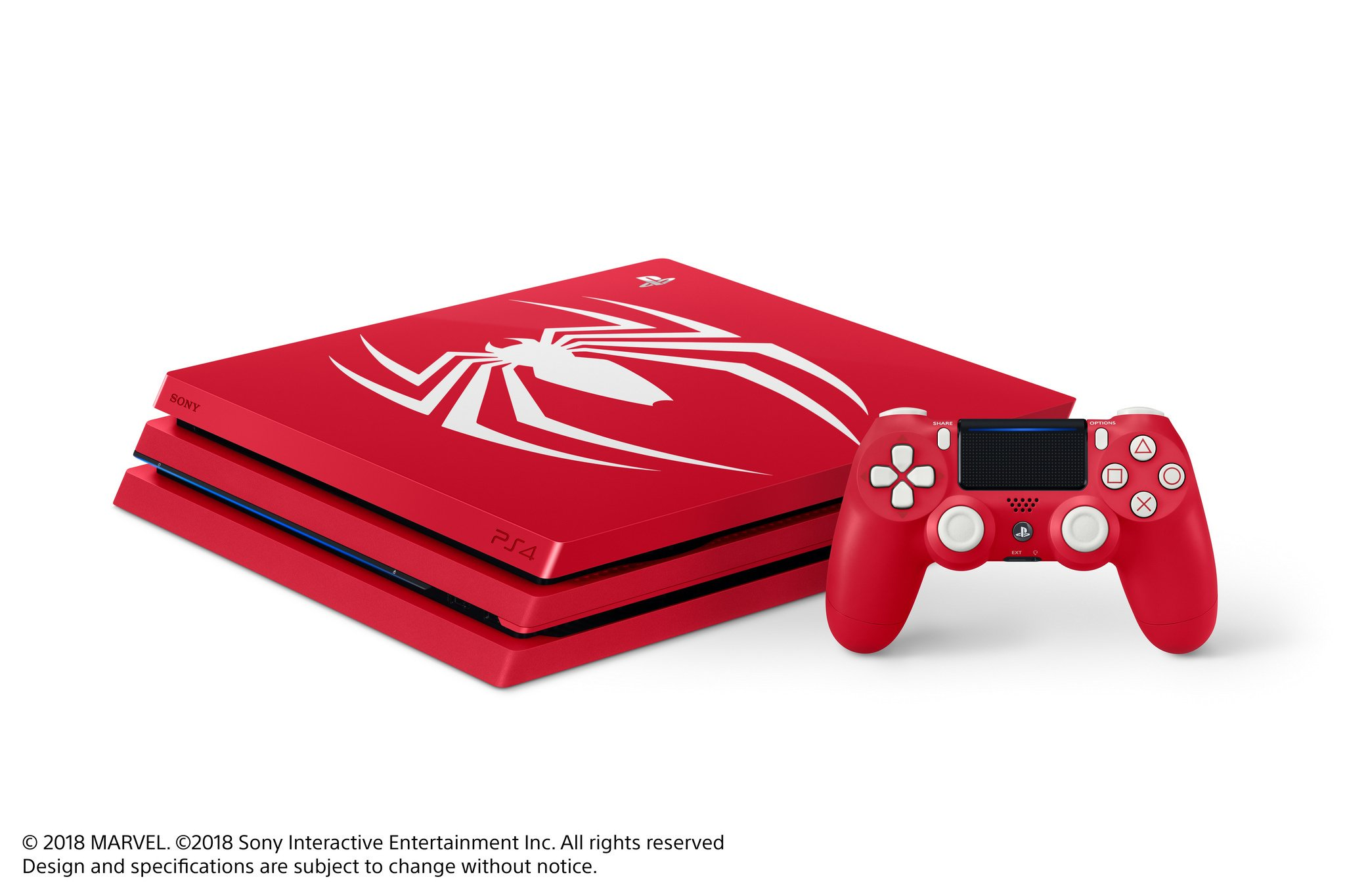 box Only Moderate Price Spider-man Limited Edition Ps4 Pro 1tb Console Good Condition