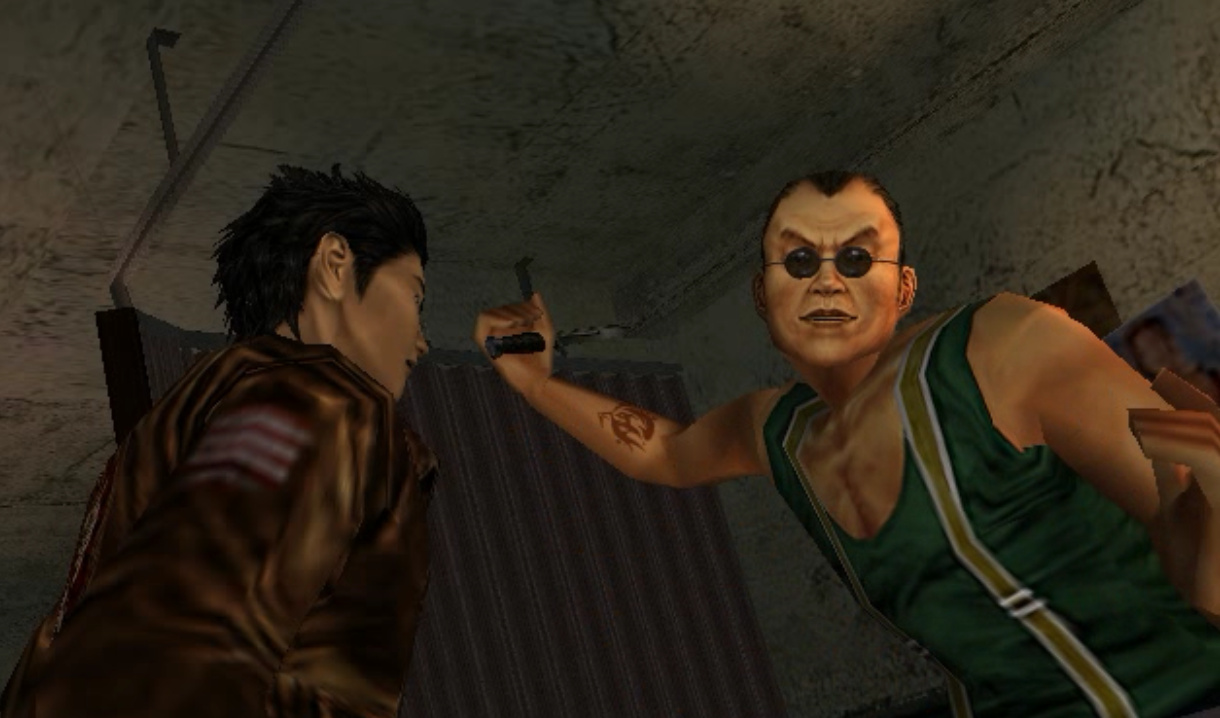 Shenmue how to find charlie in the tattoo parlor in for Find tattoo parlor