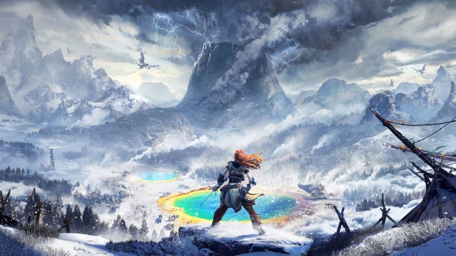 Horizon Zero Dawn Board PS4 PlayStation 4 1