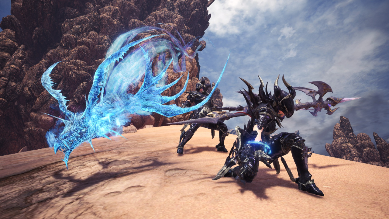 Monster Hunter: World's New Final Fantasy Armour Is