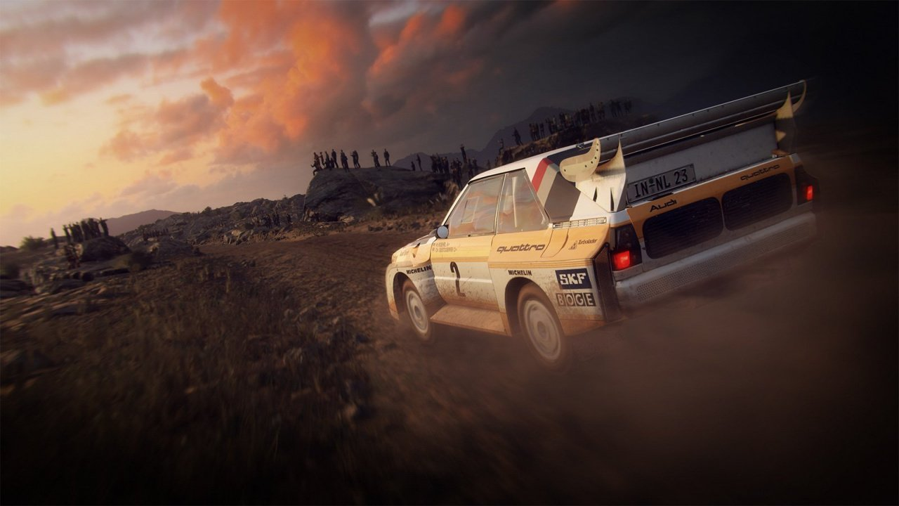 dirt rally 2 0 announced races to ps4 in february push square. Black Bedroom Furniture Sets. Home Design Ideas