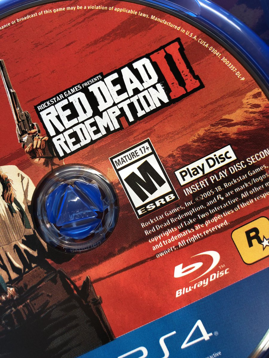 Is This Our First Look at Red Dead Redemption 2's Dual Discs?