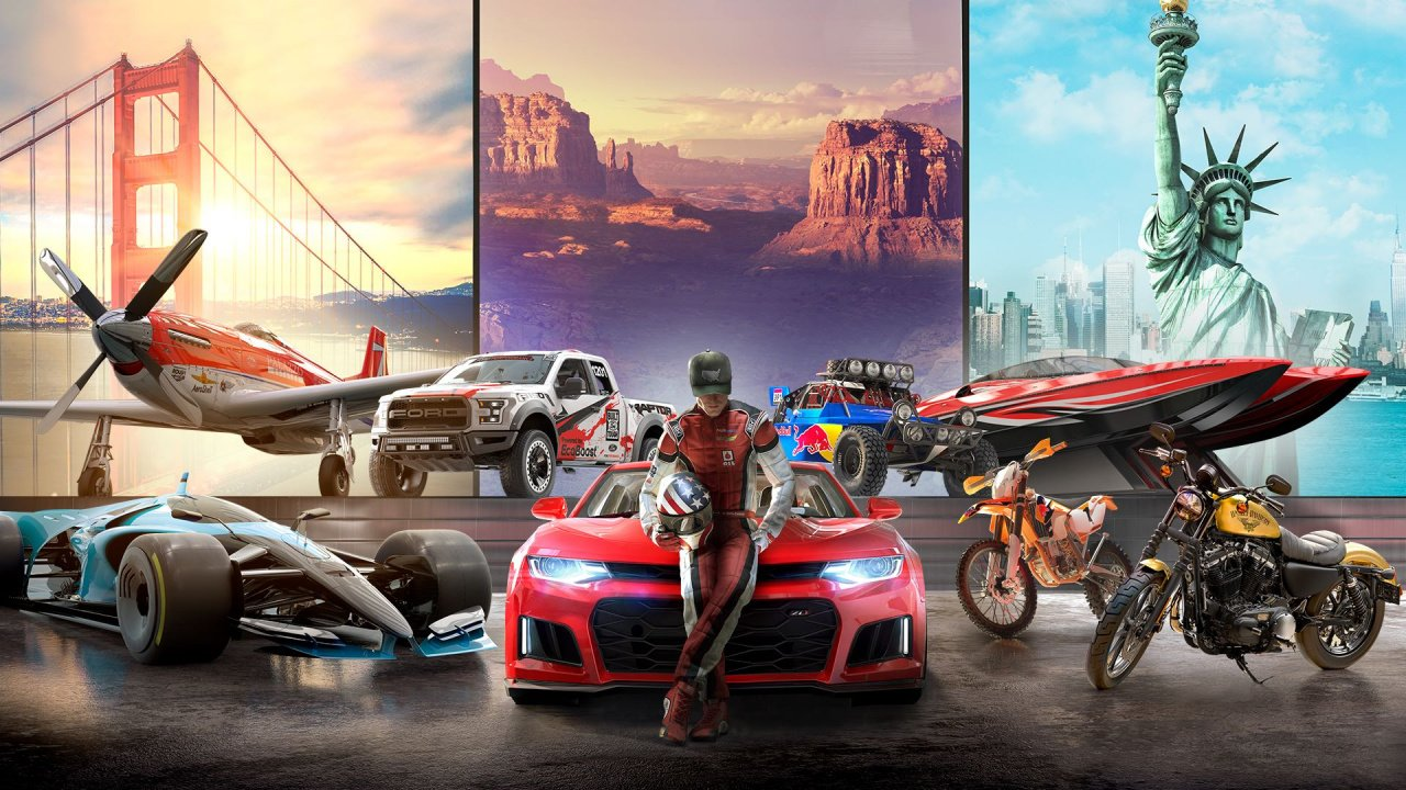 you can play the crew 2 for free this weekend on ps4 push square. Black Bedroom Furniture Sets. Home Design Ideas