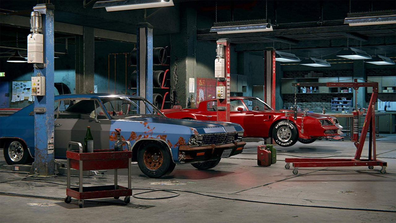 car mechanic simulator buffed up for ps4 from 25th june. Black Bedroom Furniture Sets. Home Design Ideas