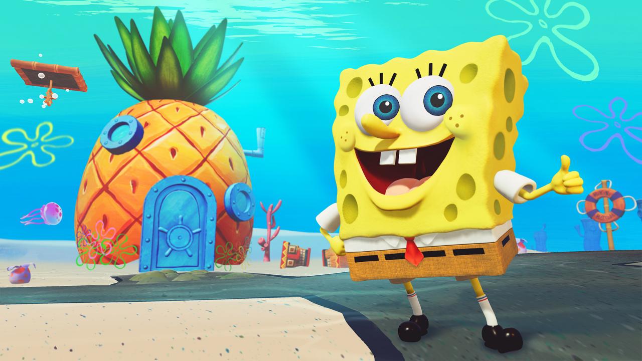For spongebob square pants battle for bikini bottom