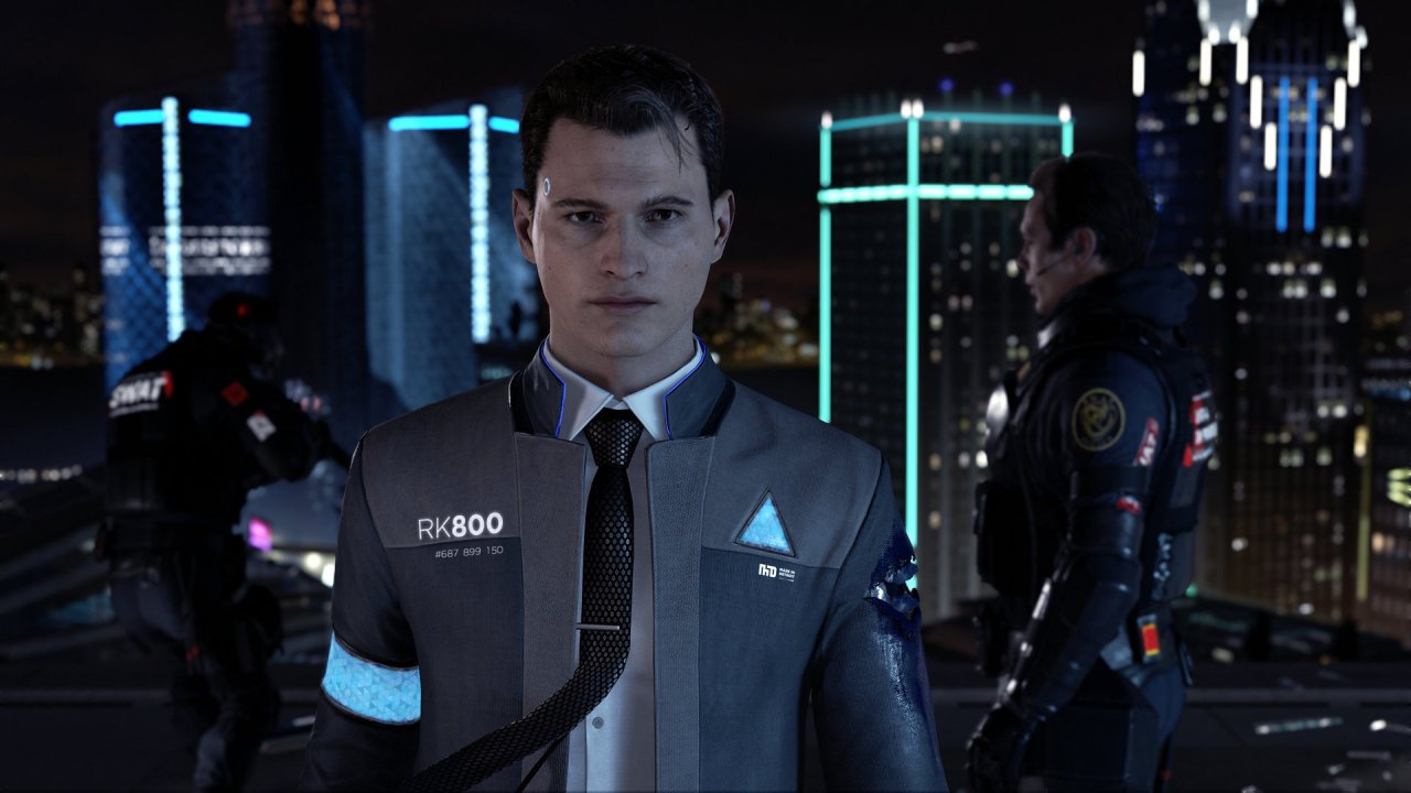 Detroit Become Human Wallpaper Connor: How Connor Can Die And Return At
