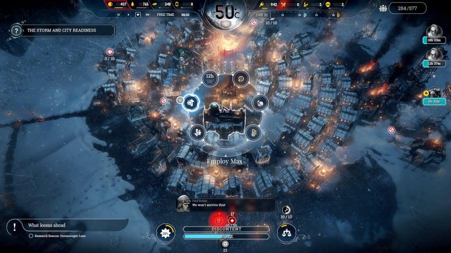 Frostpunk Review - Screenshot 1 of 4