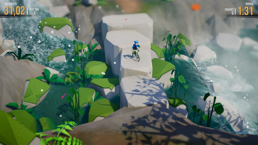 Lonely Mountains: Downhill Review - Screenshot 1 of 9
