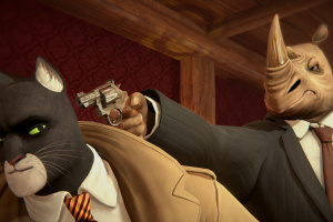 Blacksad: Under the Skin Screenshot
