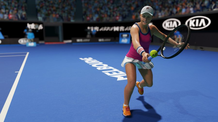 AO Tennis 2 Review - Screenshot 1 of 4