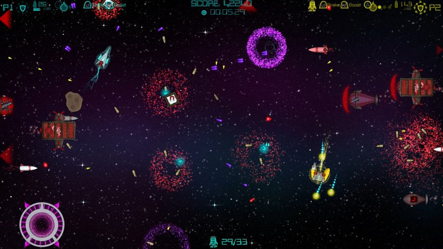 Super Mega Space Blaster Special Turbo Review - Screenshot 1 of 6