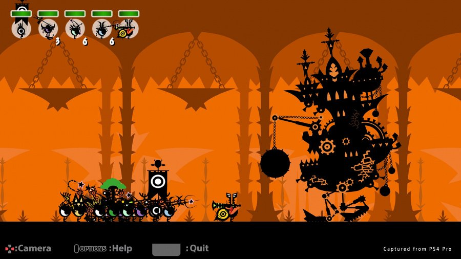 Patapon 2 Remastered Review - Screenshot 1 of 4