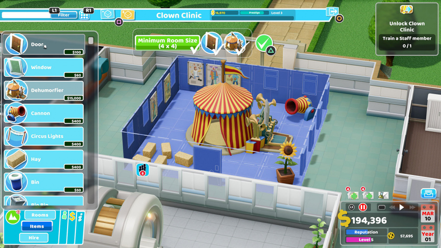 Two Point Hospital Review - Screenshot 2 of 4