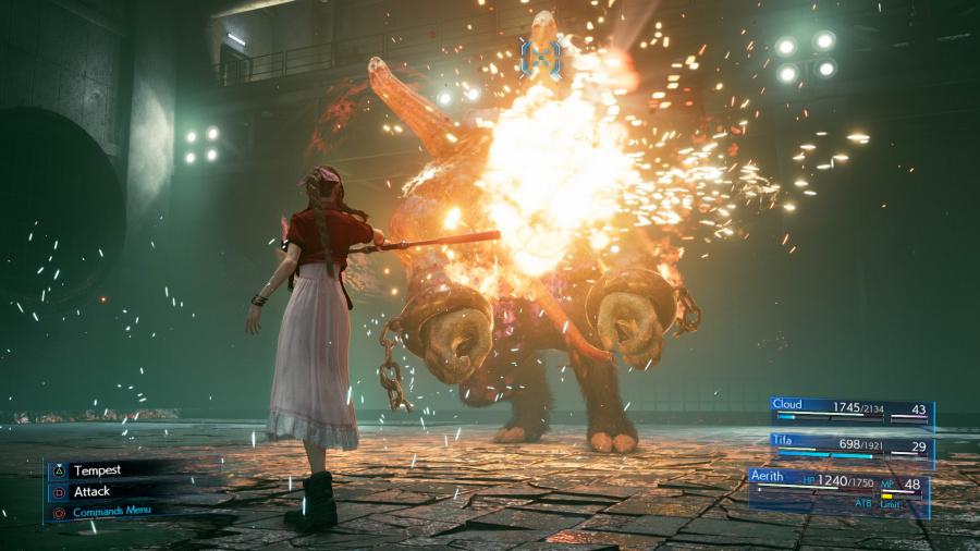 Final Fantasy VII Remake Review - Screenshot 2 of 9