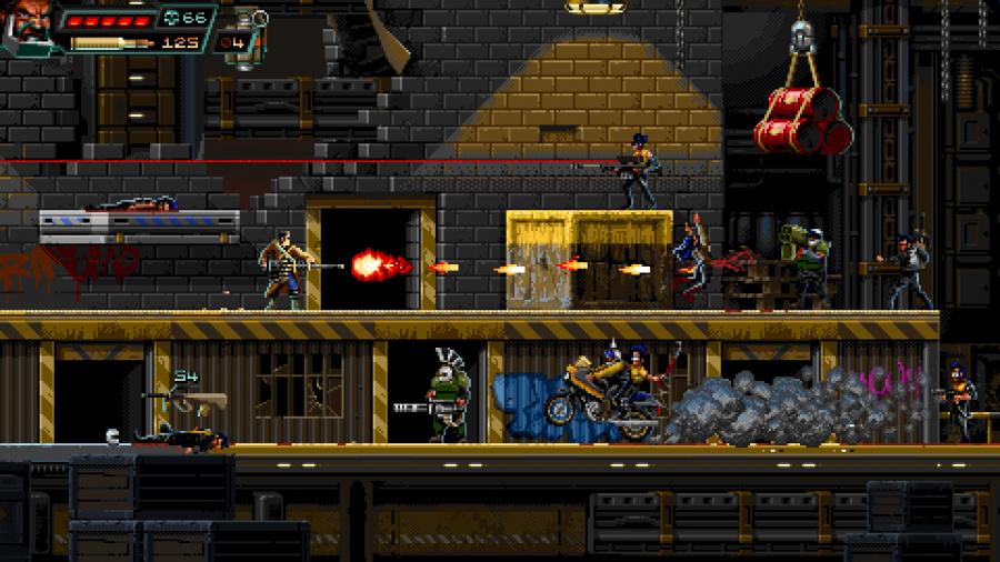 Huntdown Review - Screenshot 3 of 4