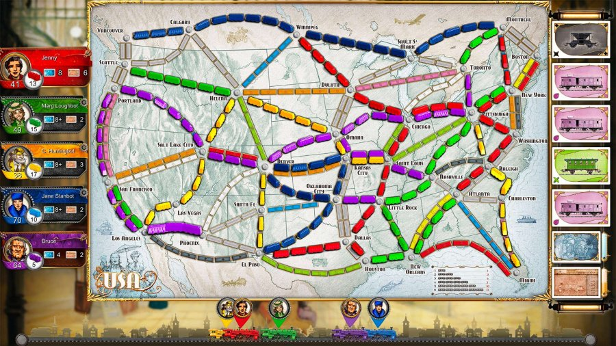 Ticket to Ride Review - Screenshot 1 of 6