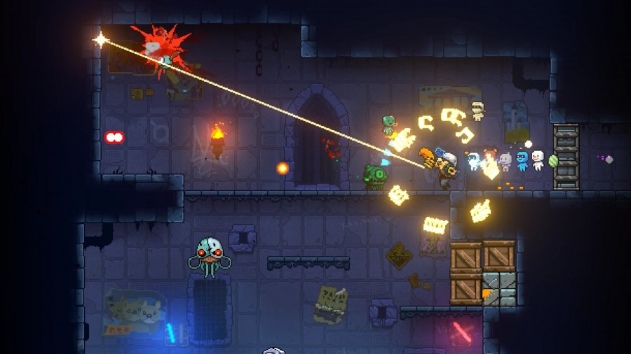 Neon Abyss Review - Screenshot 1 of 2