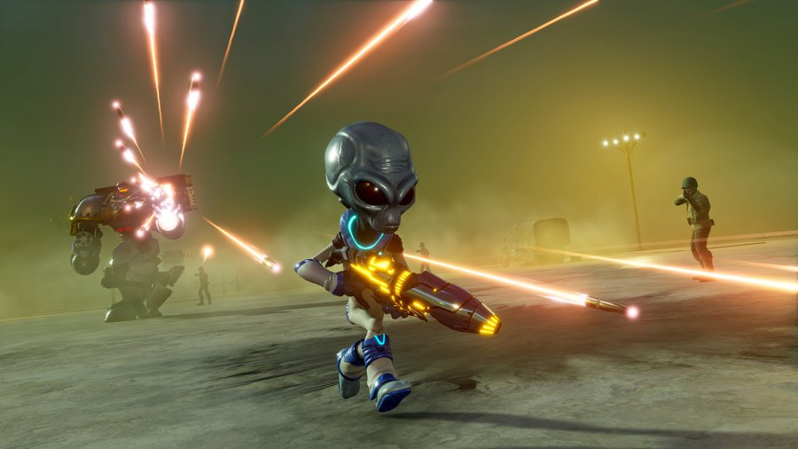 Destroy All Humans Review - Screenshot 1 of 4