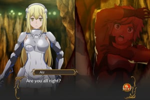 Is It Wrong to Try to Pick Up Girls in a Dungeon? Infinite Combate Screenshot