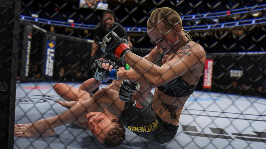 EA Sports UFC 4 Review - Screenshot 1 of 4
