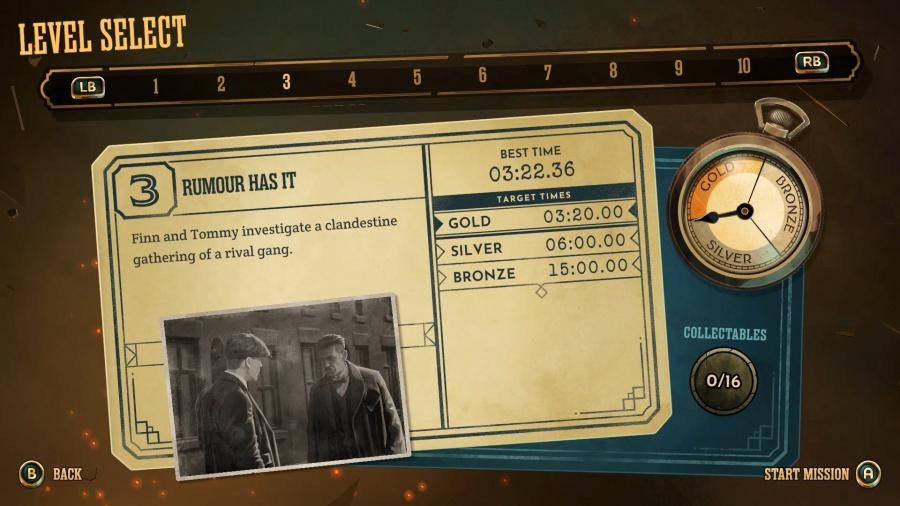 Peaky Blinders: Mastermind Review - Screenshot 1 of 4