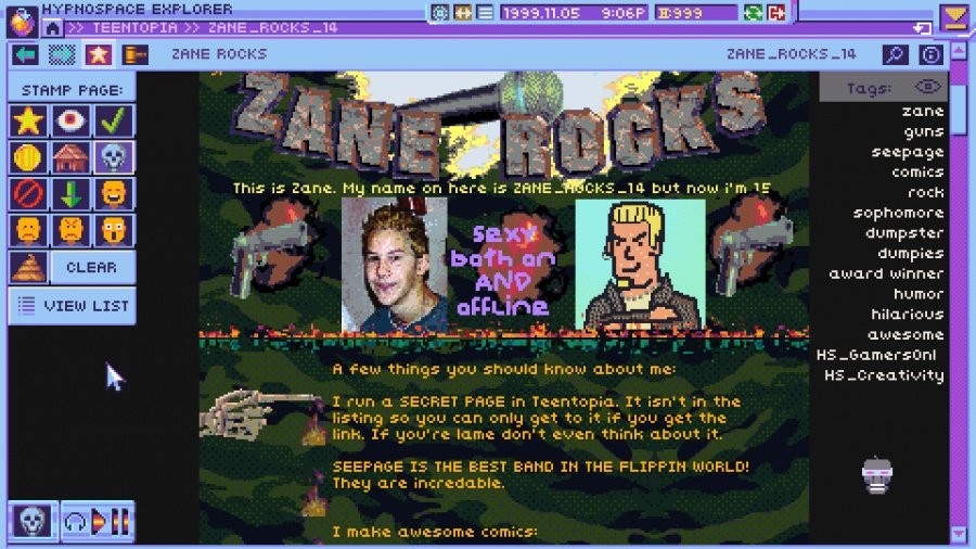Hypnospace Outlaw Review - Screenshot 1 of 6
