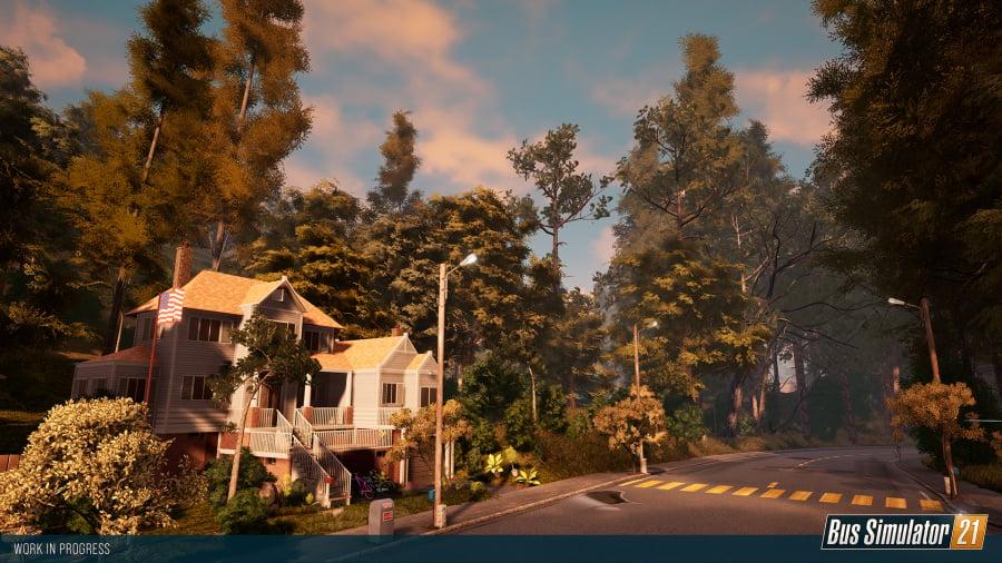 Bus Simulator 21 Review - Screenshot 1 of 7
