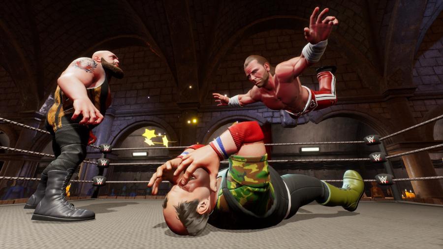 WWE 2K Battlegrounds Review - Screenshot 1 of 5