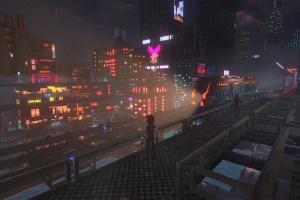 Cloudpunk Screenshot