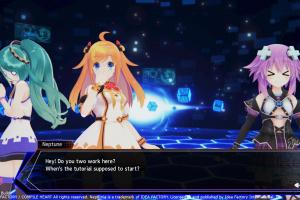Neptunia Virtual Stars Screenshot