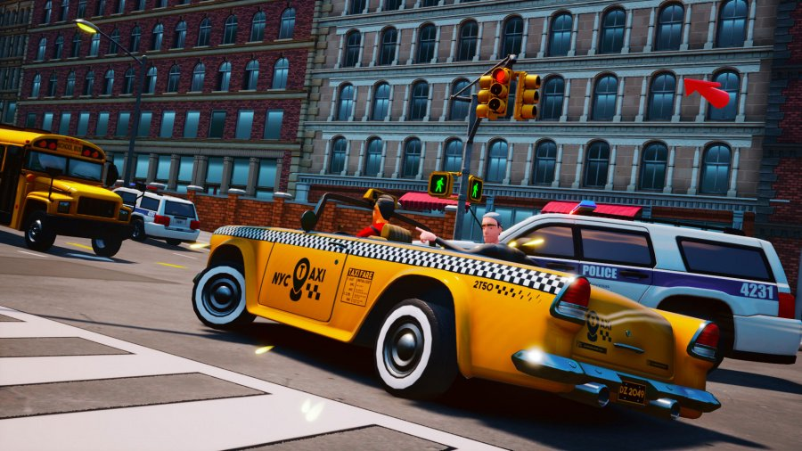 Taxi Chaos Review - Screenshot 1 of 7
