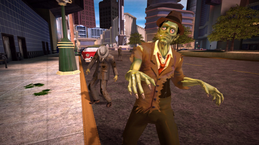 Stubbs the Zombie in Rebel Without a Pulse Review - Screenshot 1 of 6