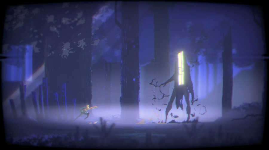 Narita Boy Review - Screenshot 1 of 9