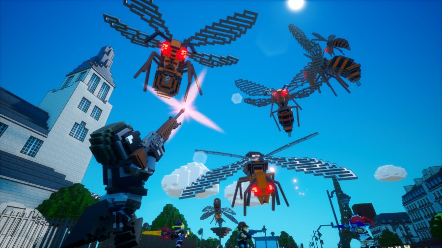 Earth Defense Force: World Brothers Review - Screenshot 1 of 7